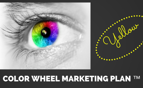 COLOR WHEEL MARKETING YELLOW