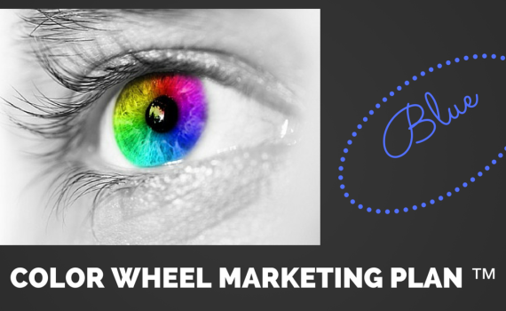 COLOR WHEEL MARKETING BLUE