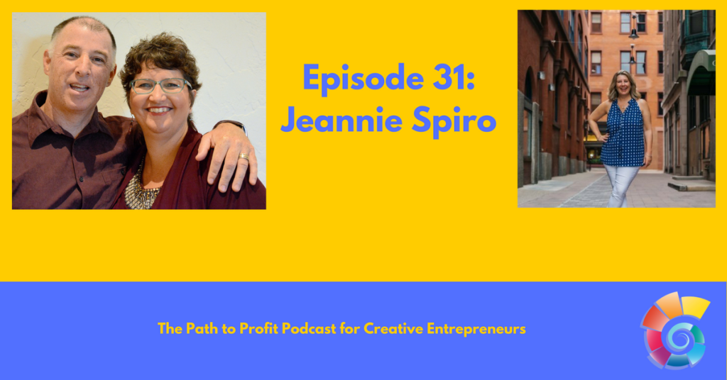 Episode 31- Jeannie Spiro