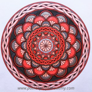healing power of coloring mandalas